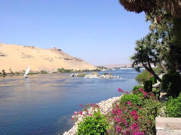 River View from Aswan