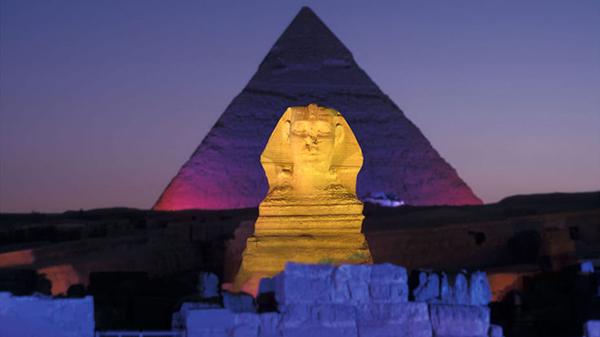 Sphinx at Night