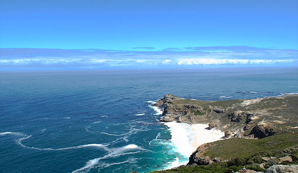 Cape Point overlook, by Mike and Jenn O'Connor