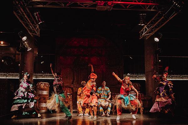 Dancers at Gold Restaurant