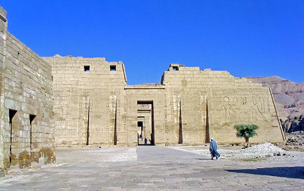 Ramses III Temple at Luxor