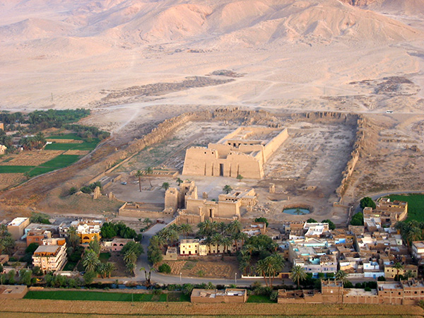 West Bank and the Ramses III Temple