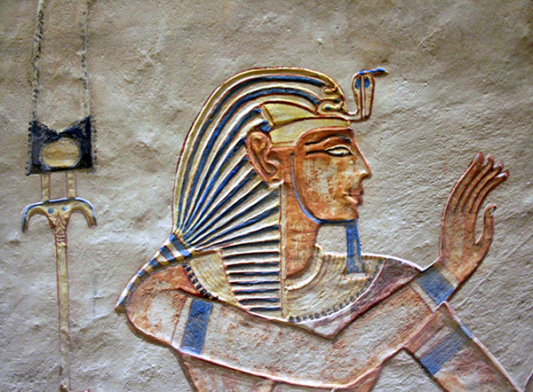 Egyptian Decoration in the Valley of the Queens