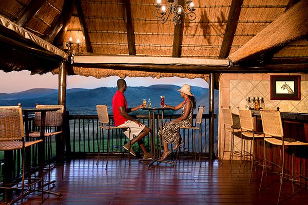 Pool Bar at Bakubung Bush Lodge
