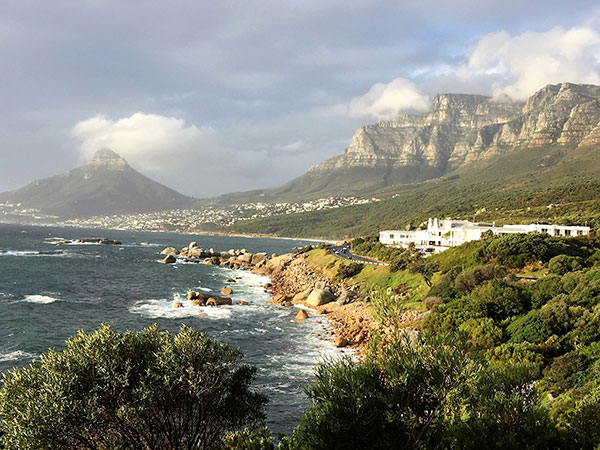 Cape Scenery and Twelve Apostles Hotel & Spa, Cape Town