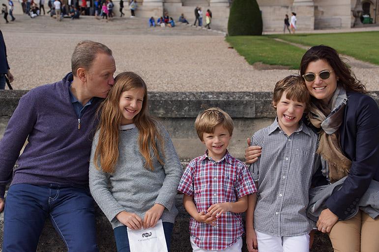 Brett Tollman and his family