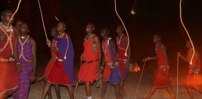 Africa Safari Kenya, Maasai Dancers