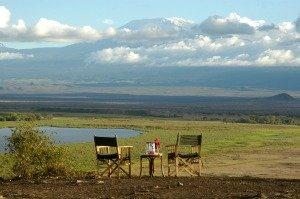 Amboseli Serena Lodge views