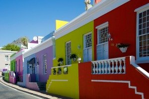 Bo Kaap Houses in Cape Town