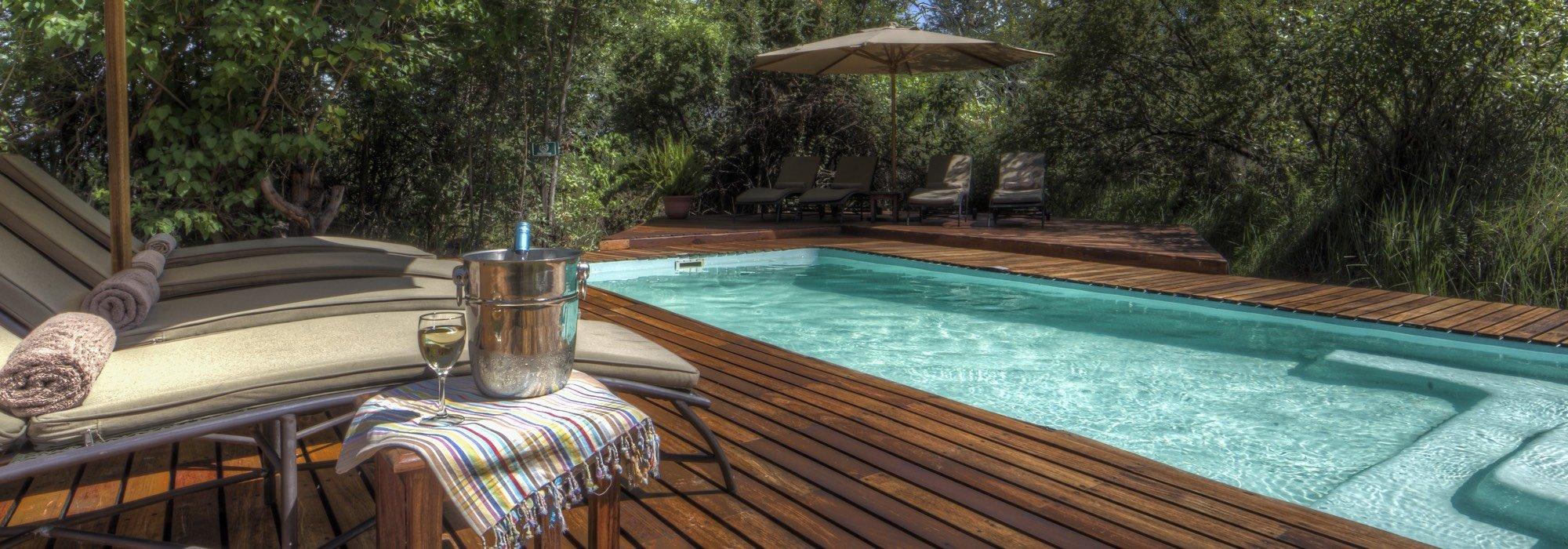 Camp Moremi Pool