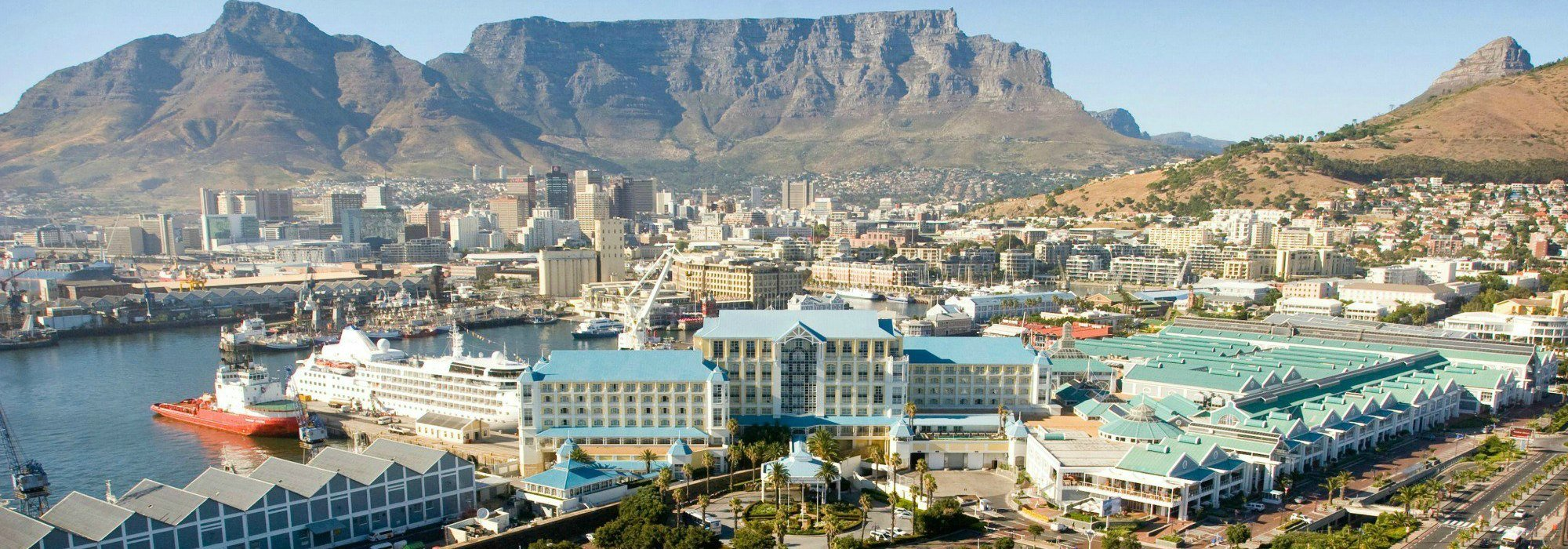 Table Mountain and Table Bay hotel