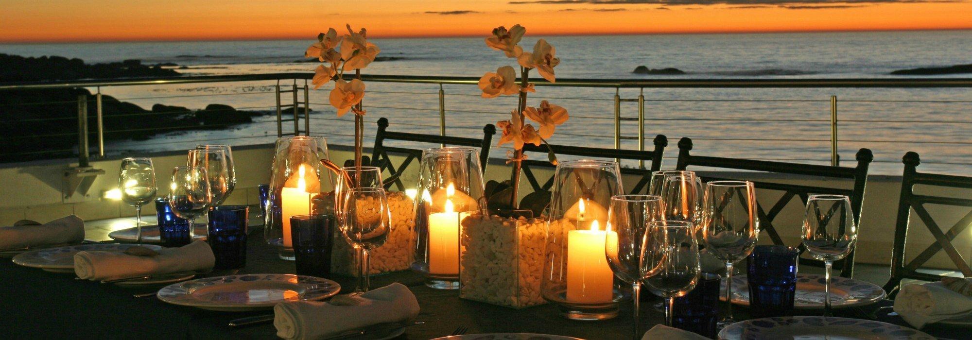 Azure restaurant in Cape Town