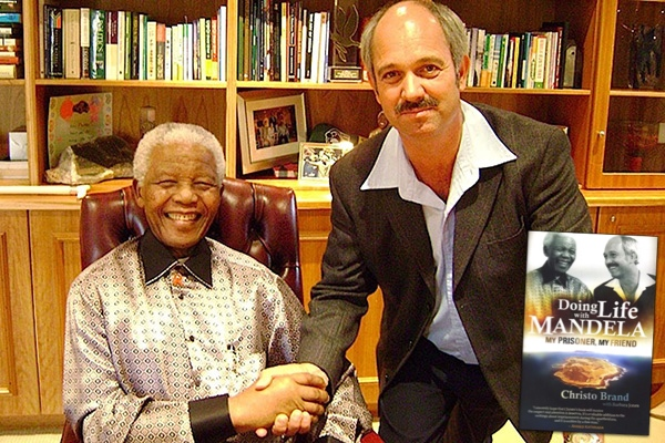 Christo Brand and Nelson Mandela