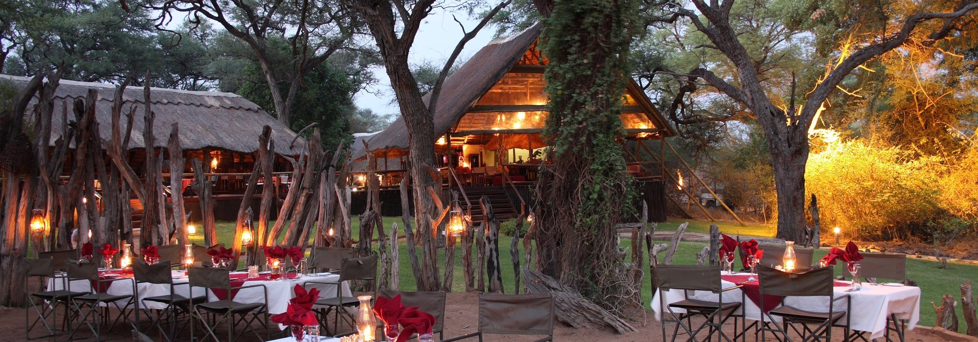 Elephant Valley Lodge Boma Dinner