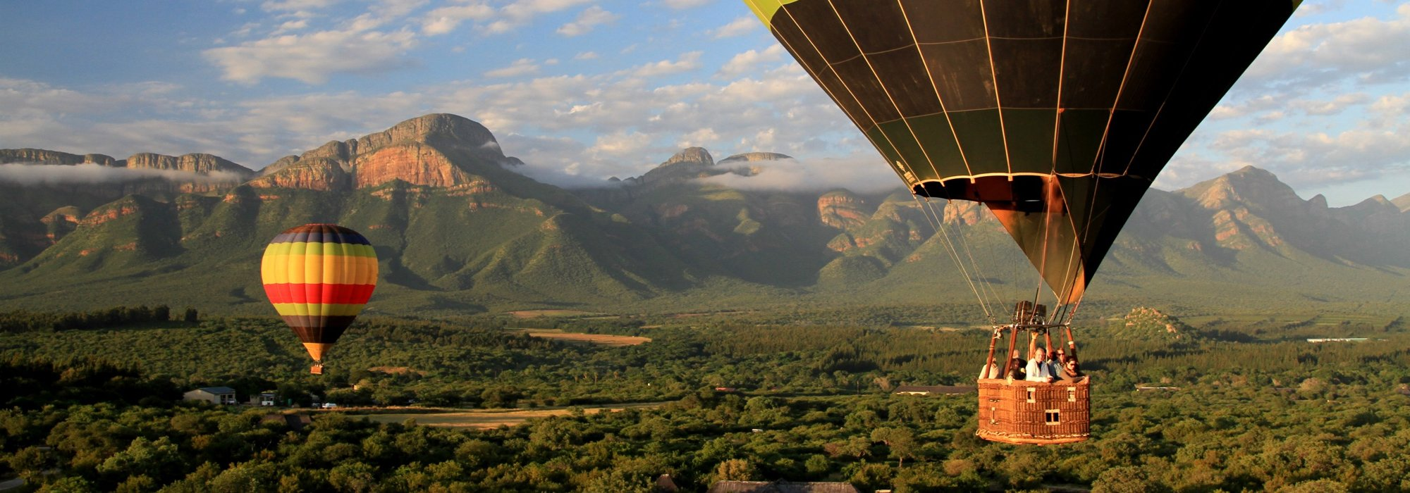 A Hot Air Balloon Safari in South Africa