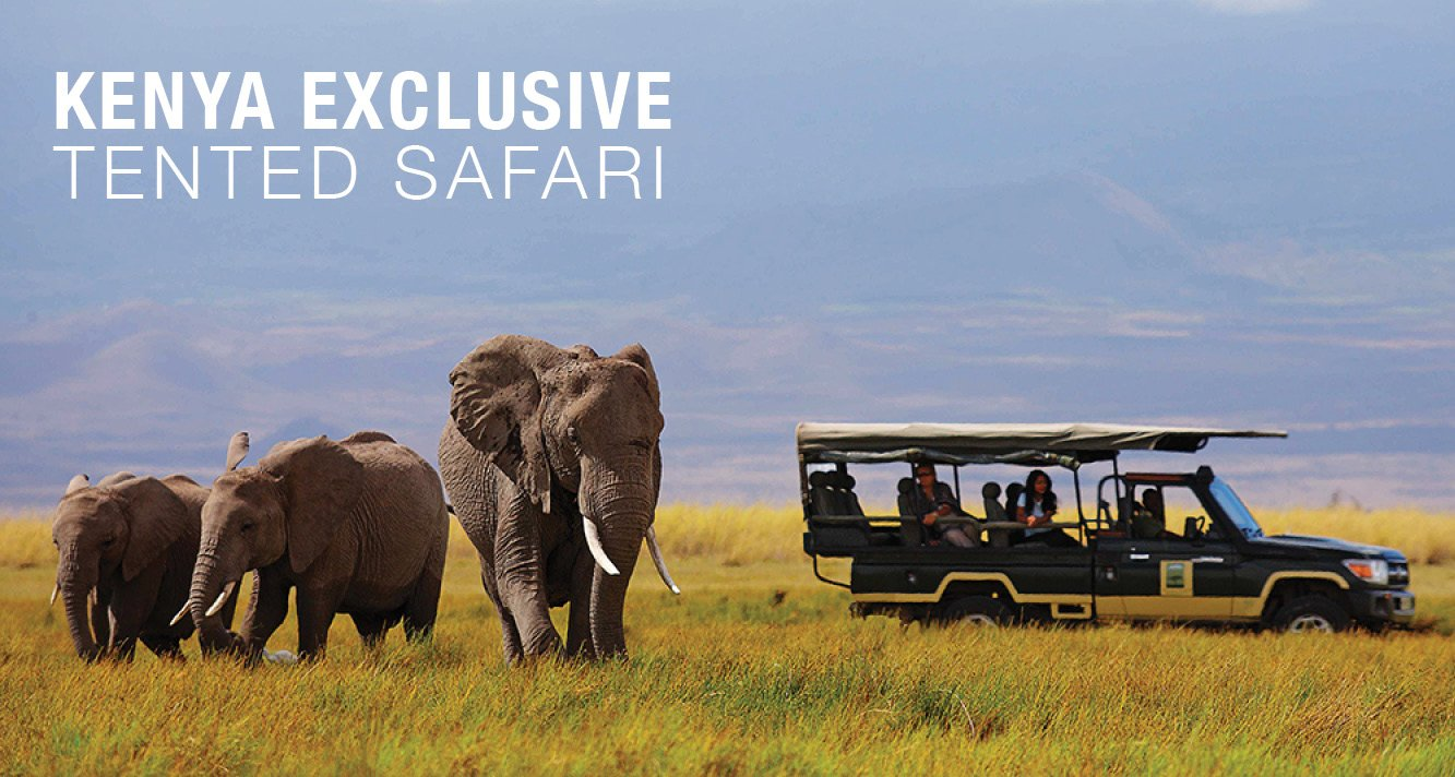 Kenya Exclusive Tented Safari