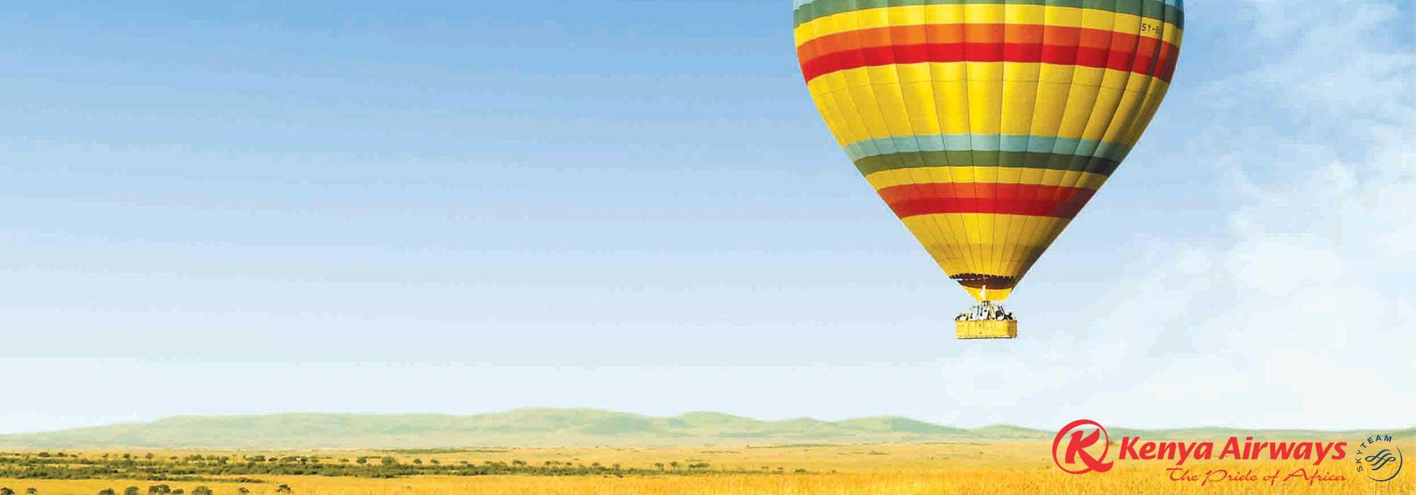 Hot Air Balloon in Kenya