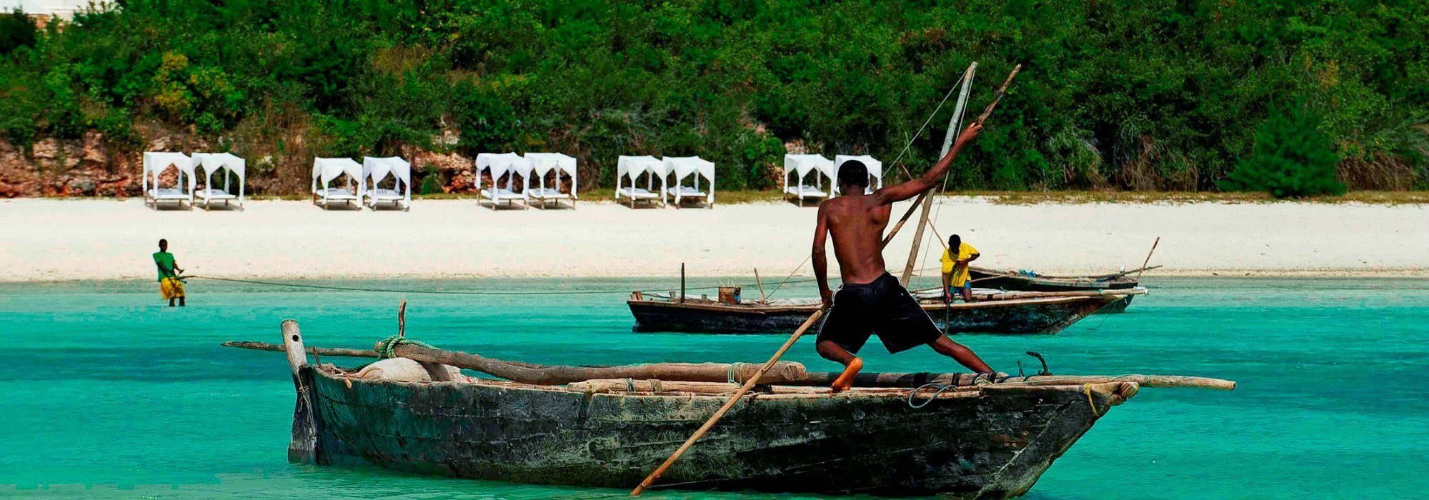 Zanzibar Fisherman at Kilindi