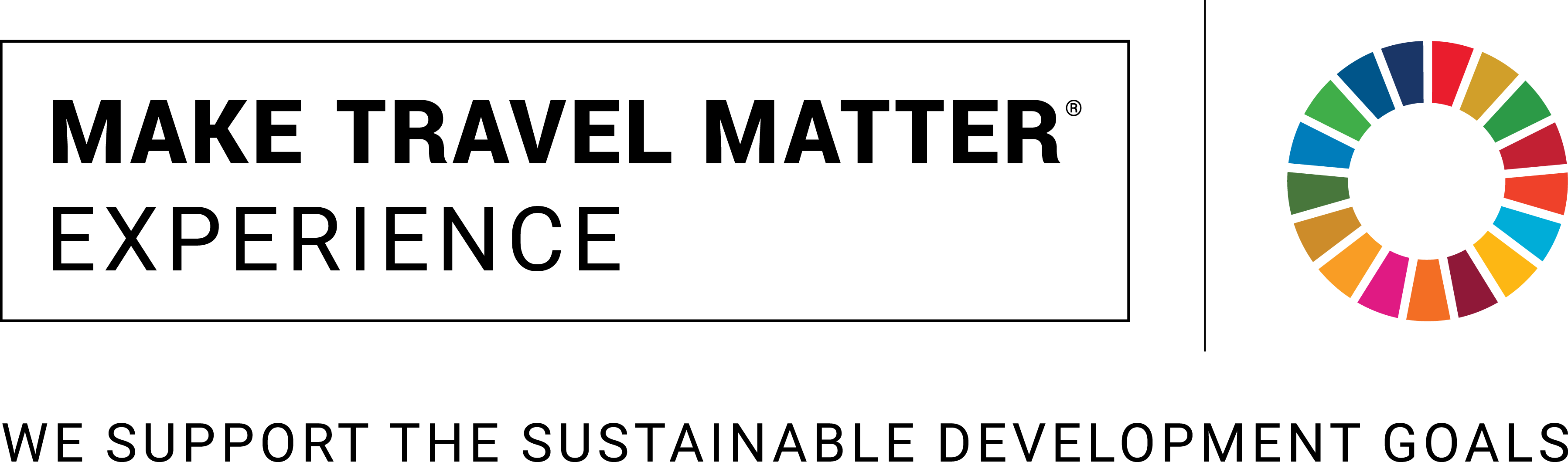 MAKE TRAVEL MATTER® Seal