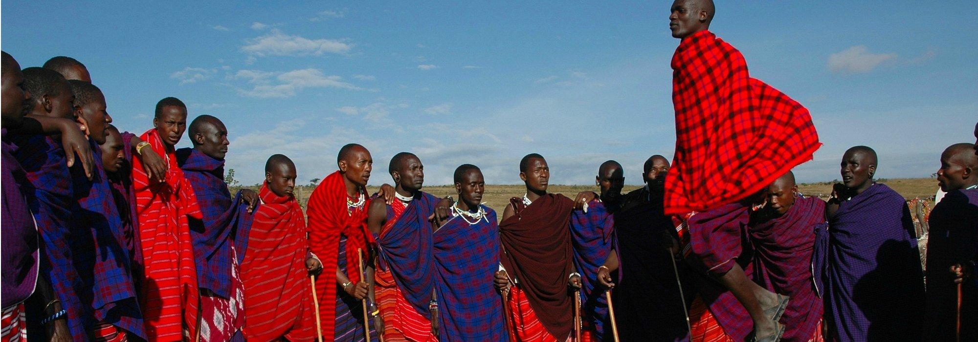 Maasai Dancers, Kenya
