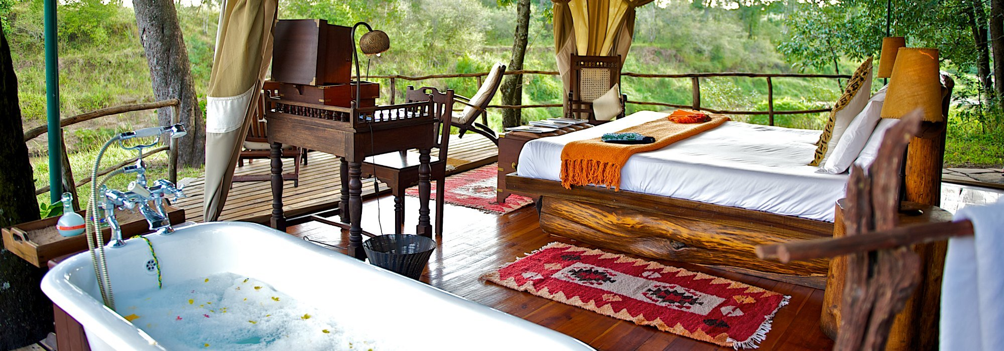 Intimate Kenyan Safari Camps