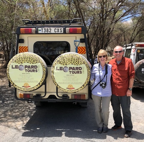 Mike and Diane B. in Tanzania