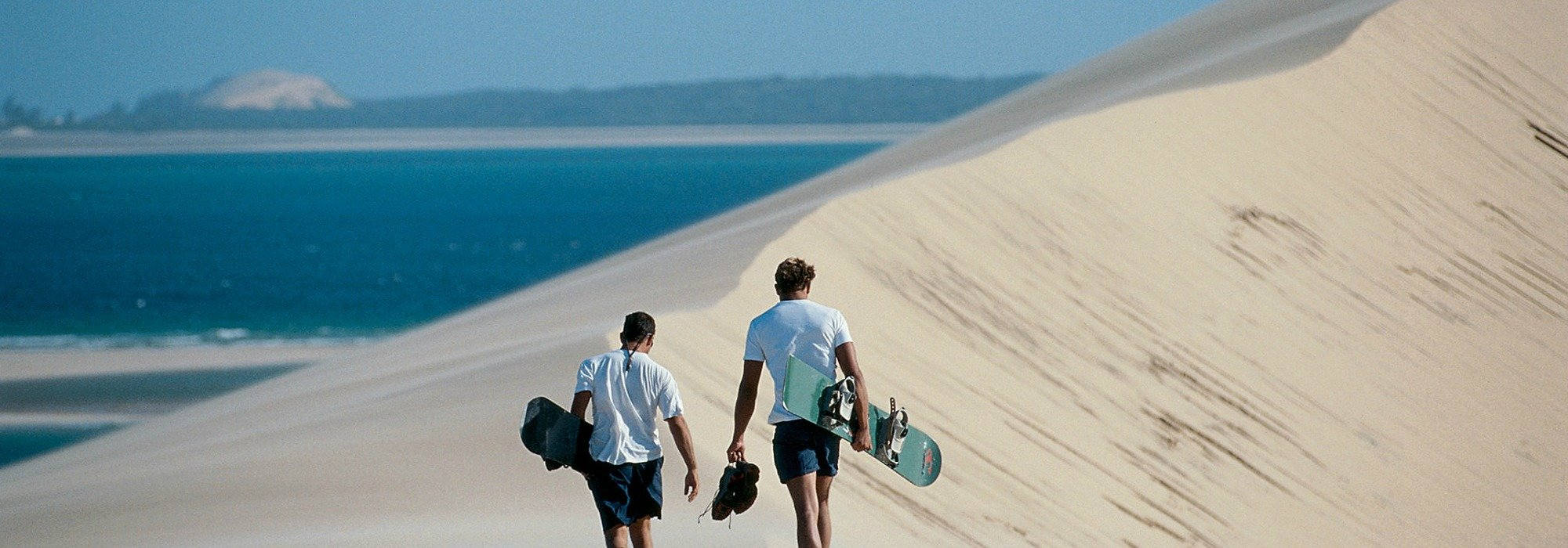 Dune Boarding Mozambique