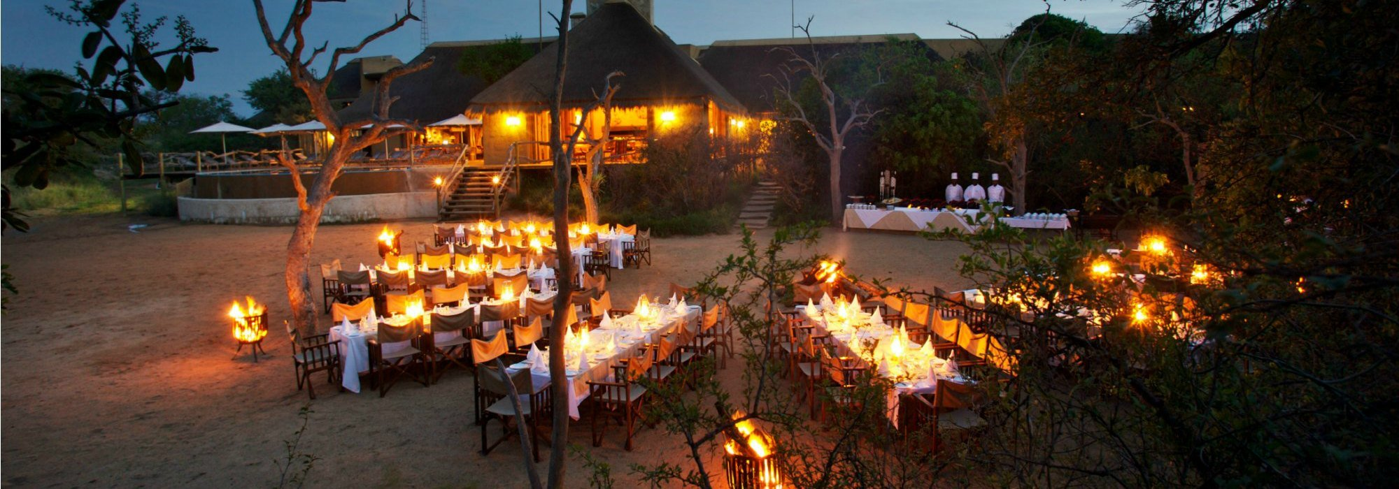 Dinner at Kapama Private Game Reserve