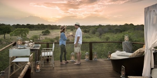 Bush breakfast at Lion Sands Game Reserve