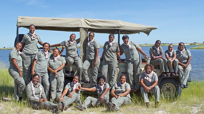 All-Women Guiding Team of Chobe Game Lodge
