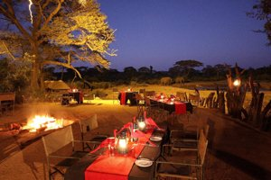 Boma Dinner at Elephant Valley Lodge