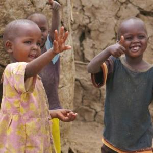 Children at Henna Pre-School