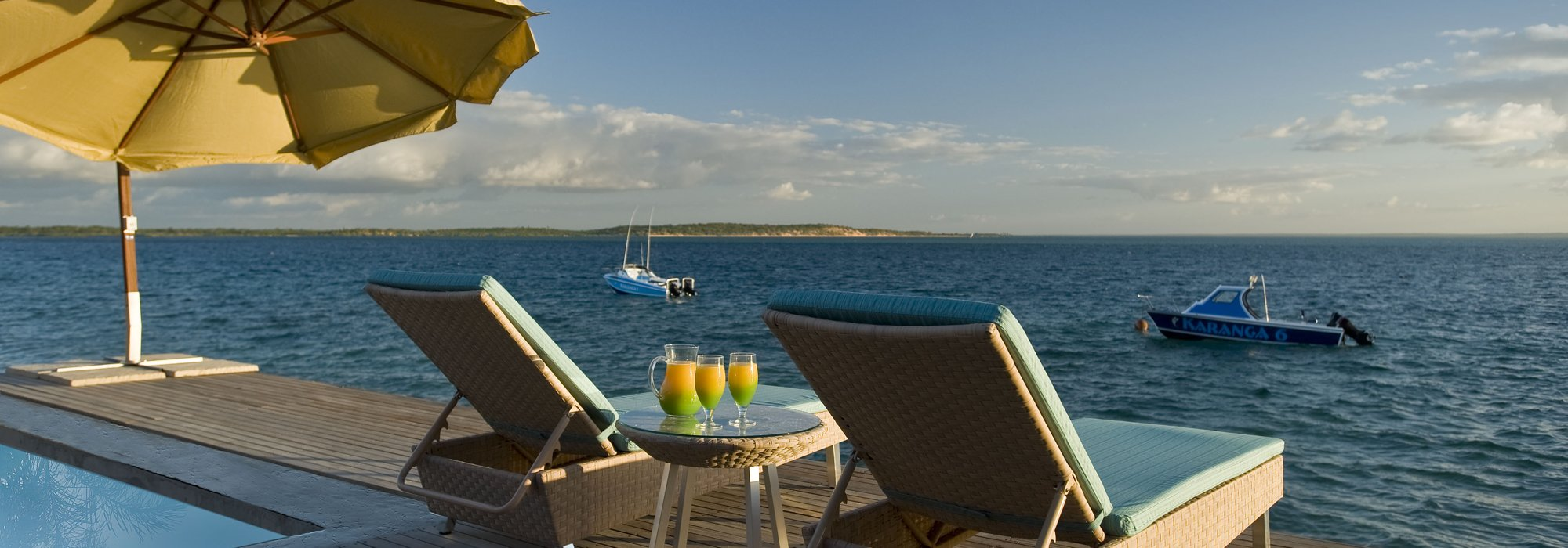 Dugong Beach Lodge Sea View in Mozambique