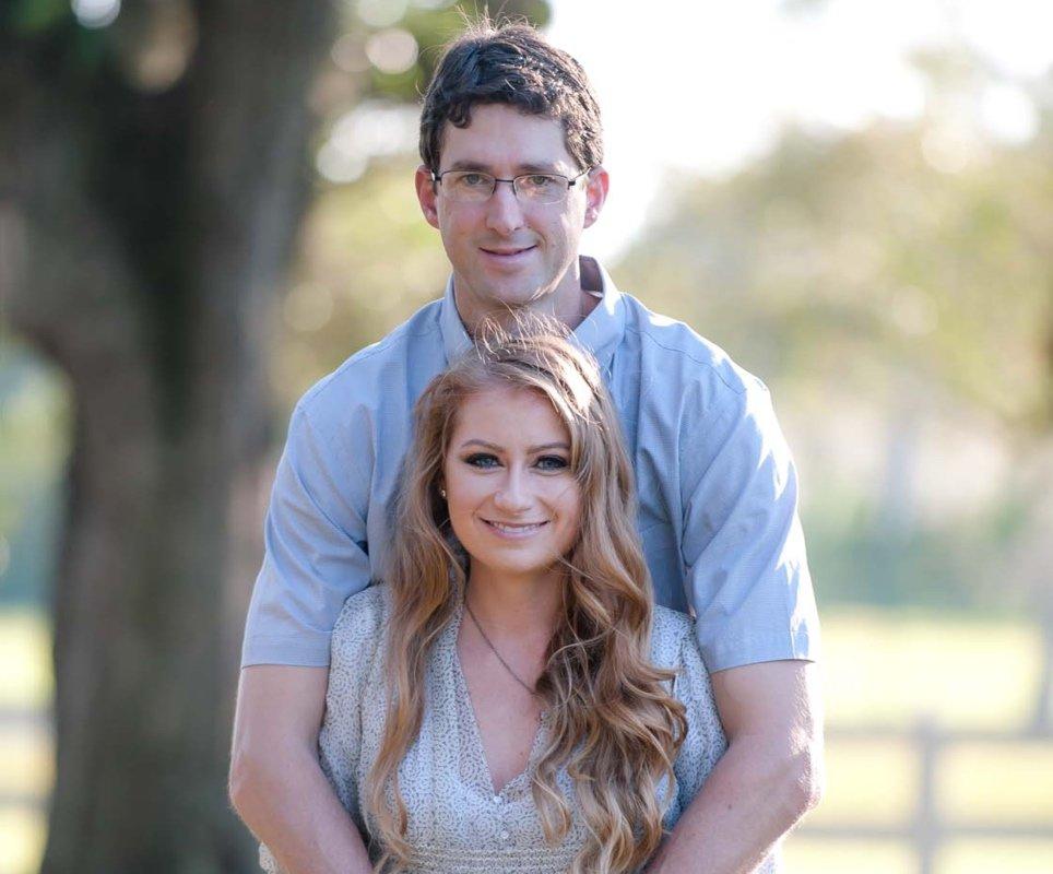Kristi Murray and Blake Holmes