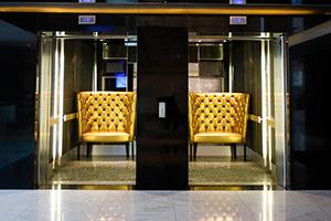 The Golden Chair Elevators at 15 Orange