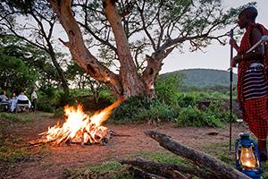 Serengeti Sopa Lodge Bush Dinner