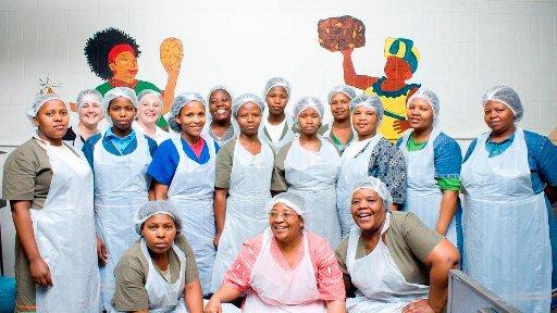 Staff of Khayelitsha Cookies