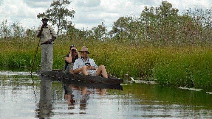 Okavango Delta mokoro excursion
