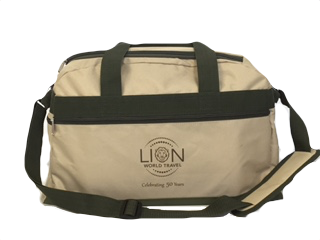 Lion World Travel Safari Bag